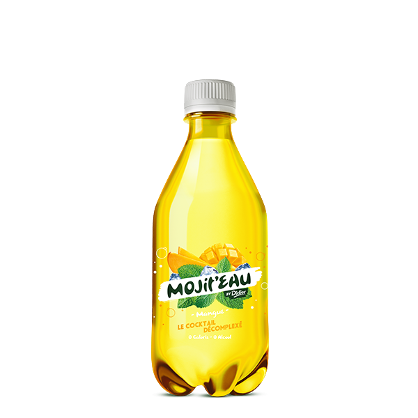 Mojit'eau 50 CL Mangue